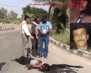 مسعود دلیلی داخل راهنمای تروریستها در قتل عام ۱۰ شهریور